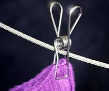 Long Lasting Clothes Pegs made from Stainless Steel Wire Manilla Tamworth Surrounds Preview