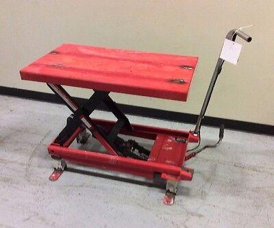 Scissor Lift Table - DAYTON 3KR47K SCISSOR LIFT TABLE