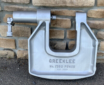 Greenlee 1732 C-frame Hydraulic Knockout Punch Driver 2