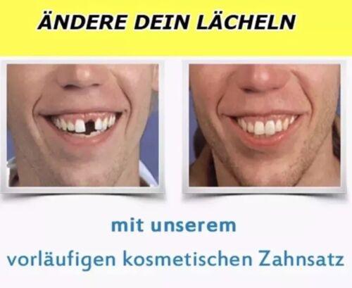 WOW Kunststoff Füllmaterial Kronen brücken Zahn Füllung Pflege weiss kein Zement
