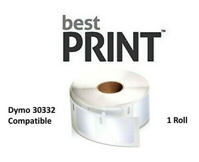 "1 Roll DYMO Compatible 30332 Best Print Labels 1"" x 1"