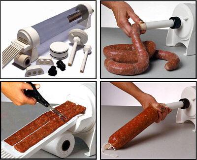 4.1l Sausage Stuffer Sausage Maker Meat Filler Machine Duel Speed Commercial