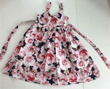 H M Sommer Kleid Sarafan Kinder Madchen Baumwolle Gr 116 Neu 1 In