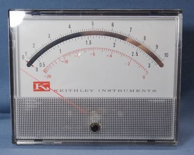Keithley Weston Panel Meter Model 1956t Fs200 Ua Dc
