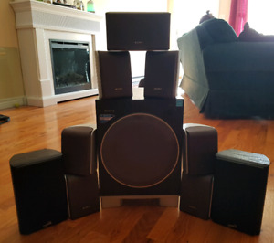 Sony 7.1 Surround Sound with Subwoofer & Height Speakers