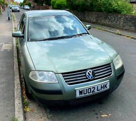 image for VW PASSAT, Saloon, 2002, Manual, 1.8T NEW 12 M MOT £750