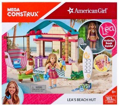 Mega Bloks American Girl Mega Construx Leas Beach Hut Set Dxw91