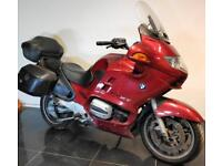 2002 02 BMW R 1150 RT ABS RED TOURER PROJECT TRADE SALE EASY FIX 44K CAT D R1150
