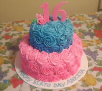 all kind of cakes,cup cakes,cake pops,affordable prices...