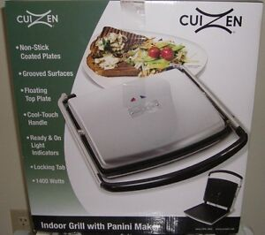 INDOOR GRILL WITH PANINI PRESS ***BRAND NEW***