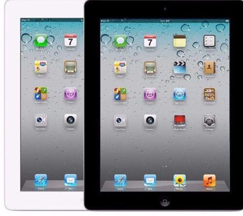 Apple iPad 2 2nd Generation 16/32/64 GB Wifi + 3G Verizon GSM Black & White.