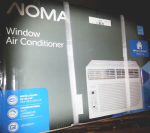 NEW IN BOX -- NOMA 8000 BTU Window Air Conditioner- NEVER USED.
