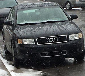2002 Audi A4 Noir Berline