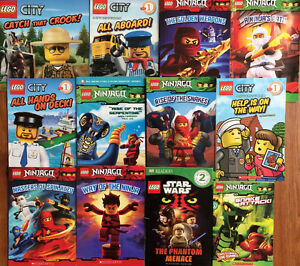 LEGO picture books - $2 each or all 12 for $20