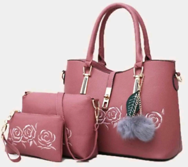 3 piece Bag Set available in 4 colours £36 + postage