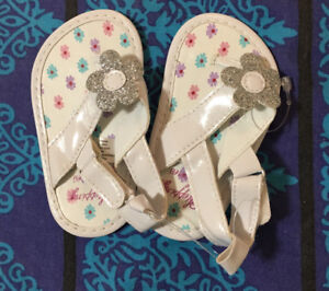 Glitter Slippers for summer. Brand new with tags.