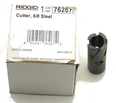 Rdgid No. 76267 58 Steel Shell Cutter For Rt1000 And Rt3422 Tapping Tools New