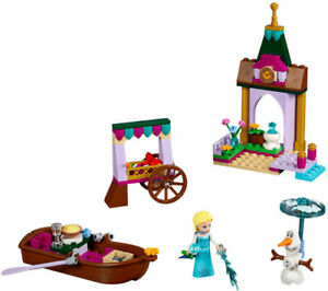 LEGO Disney Frozen 41155 Elsa Market 41143 Berry Kitchen
