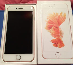 iPhone 6s Rosegold 32GB for sale