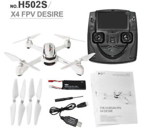 Drone Hubsan H502S 5.8G FPV, 720P HD Camera GPS  - Fly more