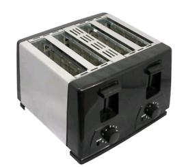 Toaster 4 slice BT410 steeliness Steel