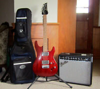 Ibanez as series, perfect condition, costs 470 new!