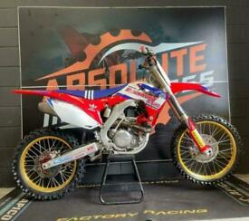 HONDA CRF450R 2016 WORLD EDITION - MOTOCROSS BIKE - FINANCE & DELIVERY AVAILABLE