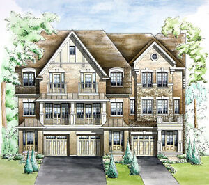 LUXURY  FREEHOLD TOWNHOMES near Oakville Hospital from $644,490
