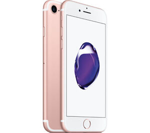 Apple Iphone 7 Rose Gold 32G with Rogers