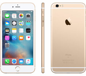Gold Apple iPhone 6s With Fido! @ One Stop Cell Shop