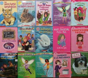 FRENCH chapter books 15 for $25