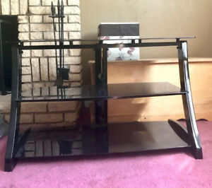 Tempered Glass - TV Stand