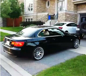 2011 BMW 3-Series Convertible Sport Black