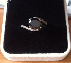 Ring with 2.47ctw Genuine Diamonds in solid 14K White Gold