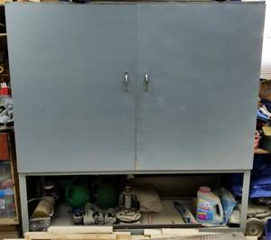 """6ft Heavy Duty Garage Rolling Shelf Cabinet *(Welded 1/4"""" Steel)"""