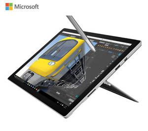 "Microsoft Surface Pro 4 12.3"" with Intel M3, 128GB SSD, 4GB RAM"