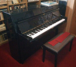 Gorgeous Stein Haus Piano with bench.