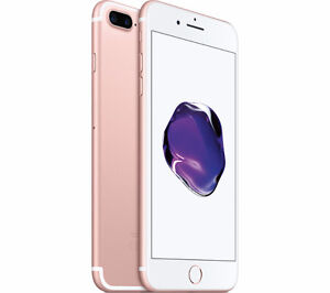 SEALED Apple iPhone 7 Plus 256gb (Fido/Rose gold)