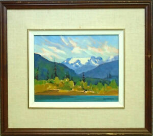 Original Oil Painting by Local BC artist Linda Wagner