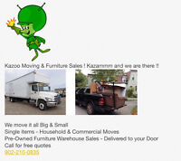 MOVING? KAZOO MOVING ! Starting at $40 !!
