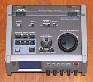 Edirol R-4 Four-Channel Portable Recorder and Wave Editor