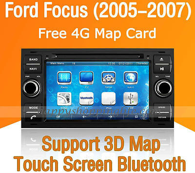 Car Multimedia Player for Ford Focus Galaxy Kuga Connect C-Max DVD GPS Navi, used for sale  Shipping to Canada