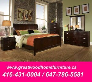 SOLID WOOD 6 PIECE BEDROOM SET FOR $999 ONLY