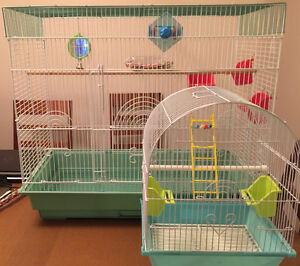 Bird cage for home and transit  2 cages - $40
