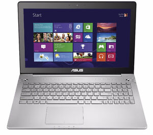 "Touch Screen Quad Core 15.6"" ASUS Laptop"