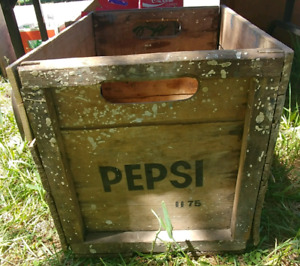 Pepsi crate/ wooden butter crate