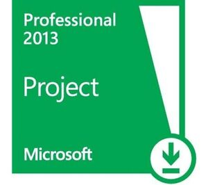 The Microsoft Project Professional 2013 CD and genuine  Key