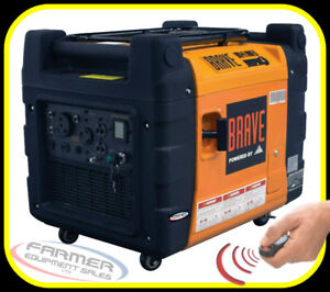 4100 watt REMOTE START INVERTER GENERATOR, very quiet, IN STOCK