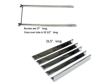 Weber Spirit 500 and Genesis Silver A grills  Replacement Burner & Heat Plate