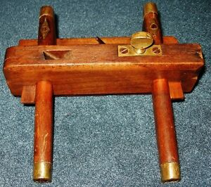 Antique Wood Working Wedge Arm Molding Plow Plane Hand Tool Prince George British Columbia image 3